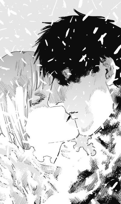 優しくキスをして