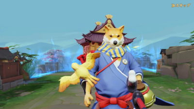 決戦!平安京 ゲーム画面