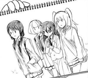 智子と友達たち