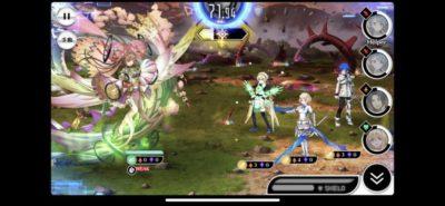 コノハナサクヤ戦闘画面