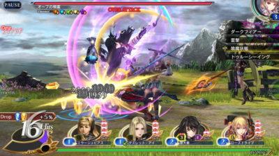VALKYRIE ANATOMIAゲーム画面