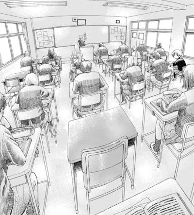 彼らがいない教室