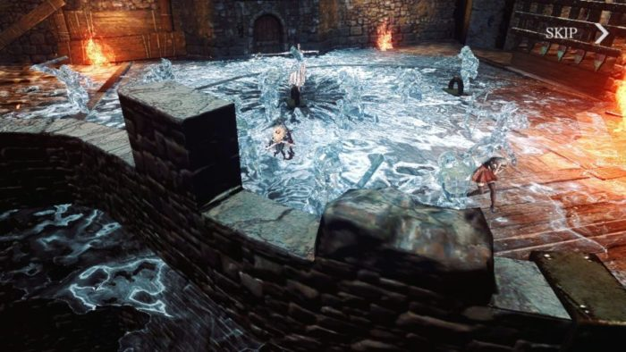 『DarkAvengerX』ゲーム画面