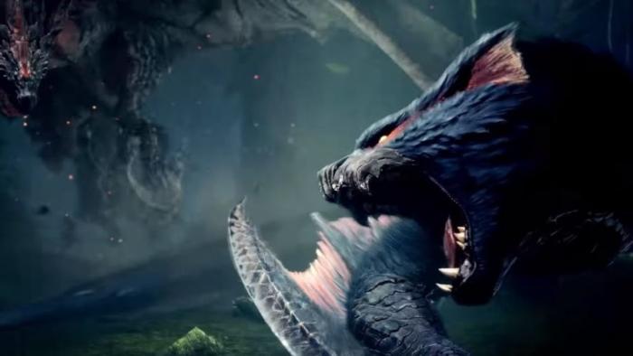 迅竜対火竜