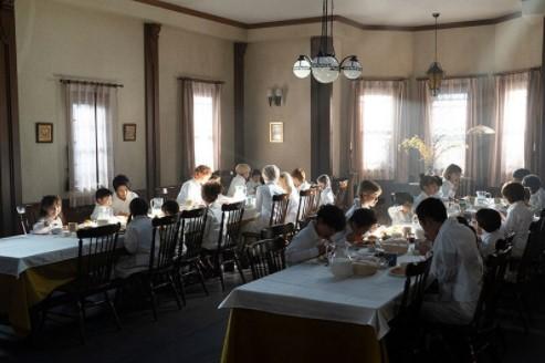食堂での一幕